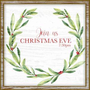 Christmas Eve Service @ Cornerstone Church